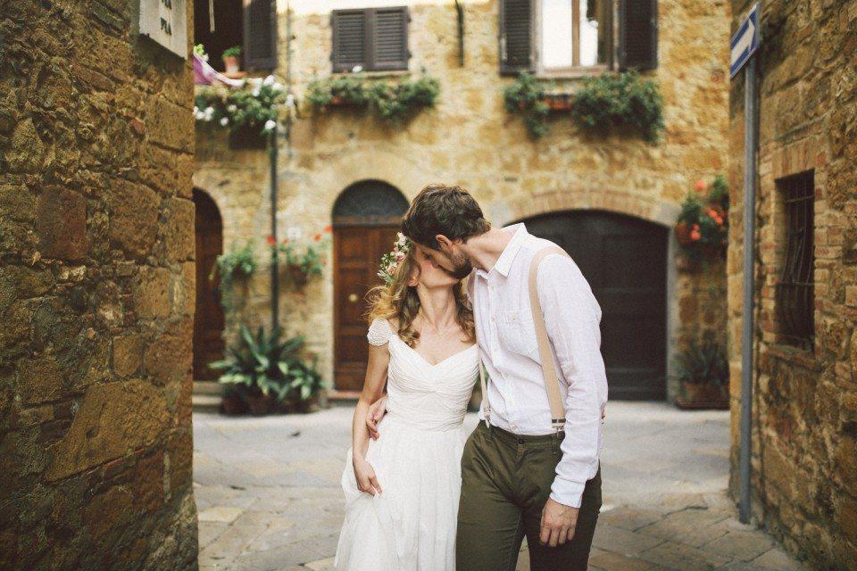 На полях Тосканы: свадебная фотосессия Александра и Ирины
