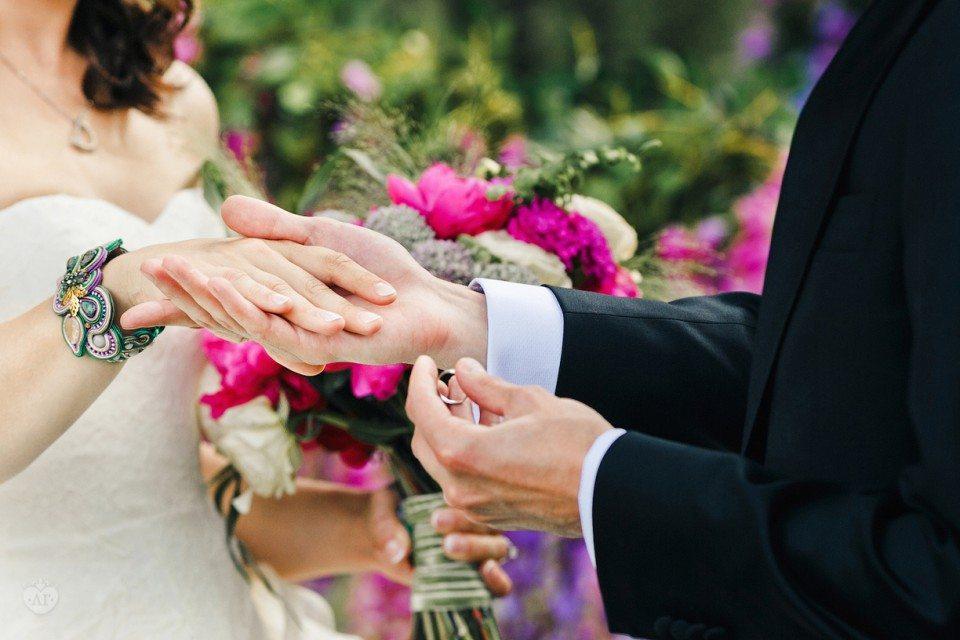 Эльфийский сад: свадьба Дарьи и Левана