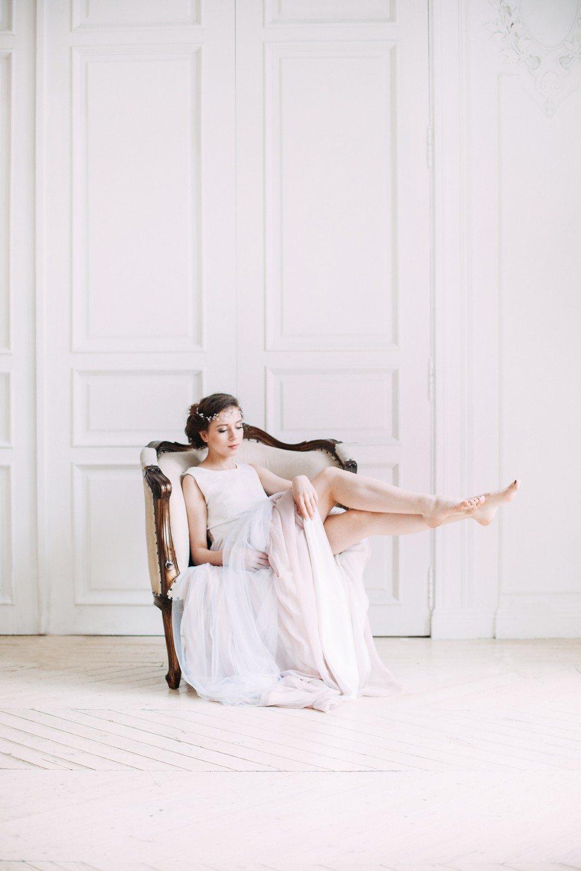 Невеста на горошине: стилизованная съемка