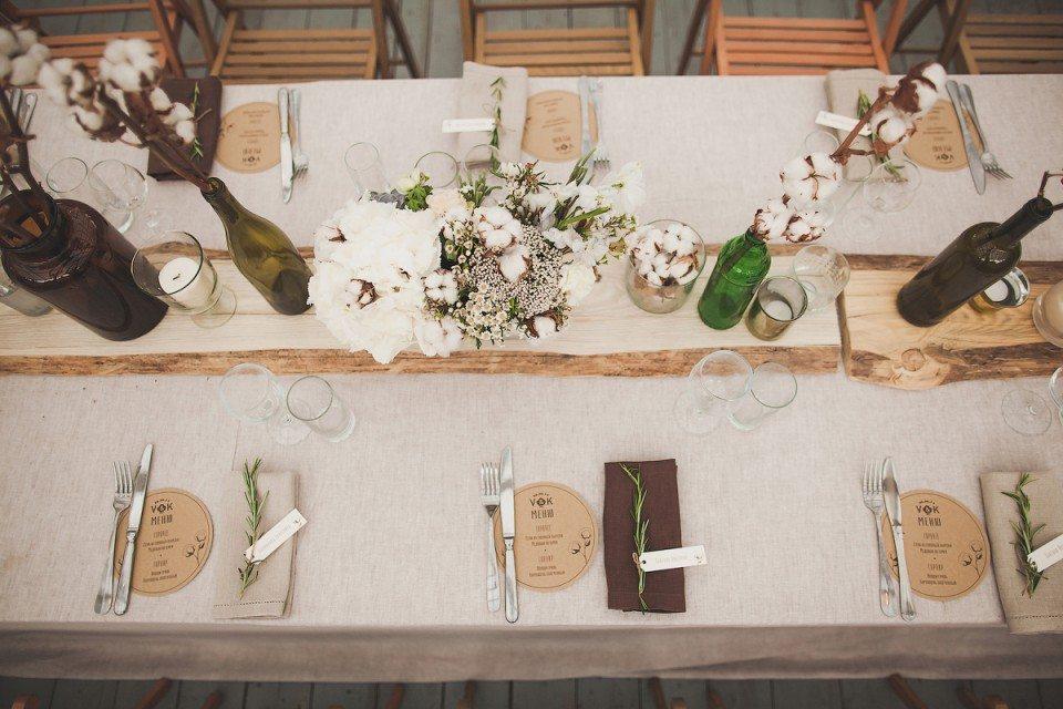 Хлопковое счастье: свадьба Кати и Вадима