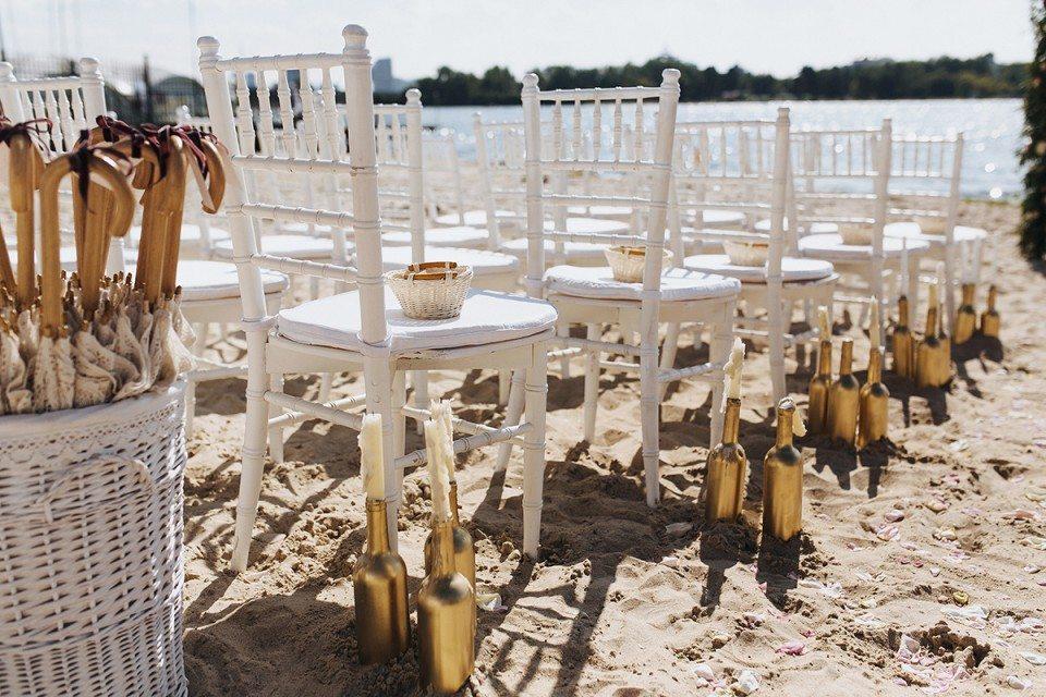 На солнечном берегу: свадьба Натальи и Александра