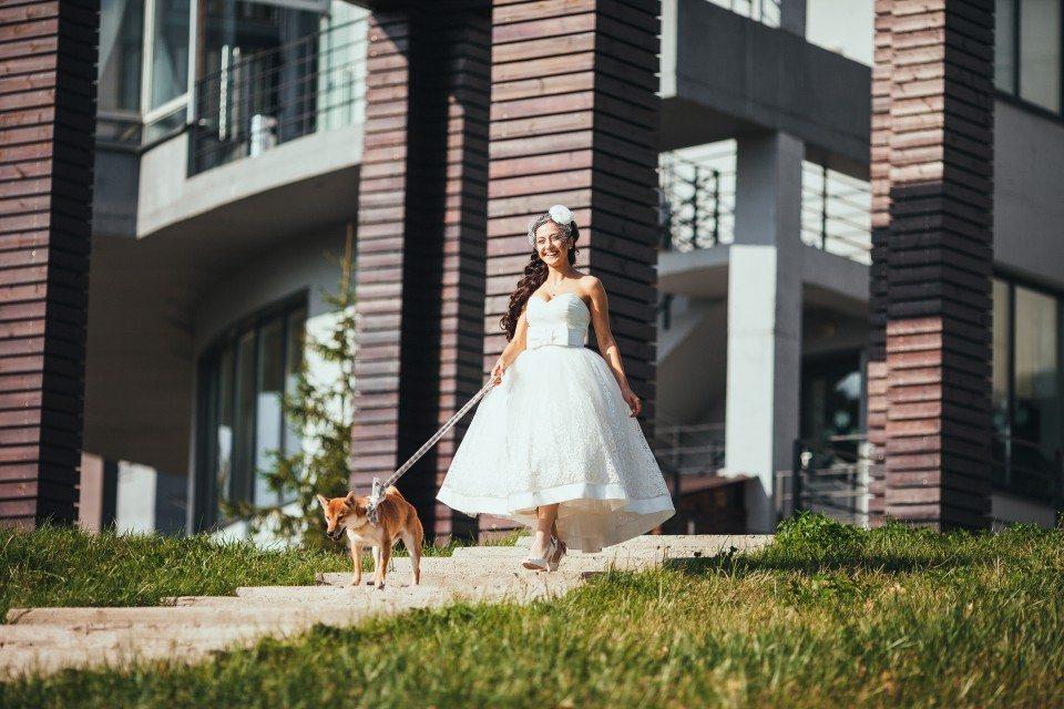 Уютная осень: свадьба Артема и Ани