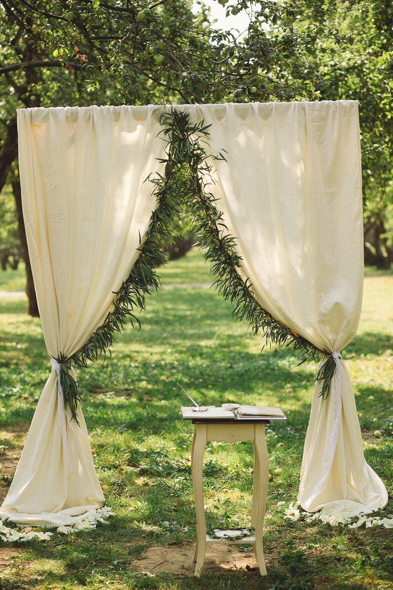 Яблоневый сад: свадьба Дарьи и Павла