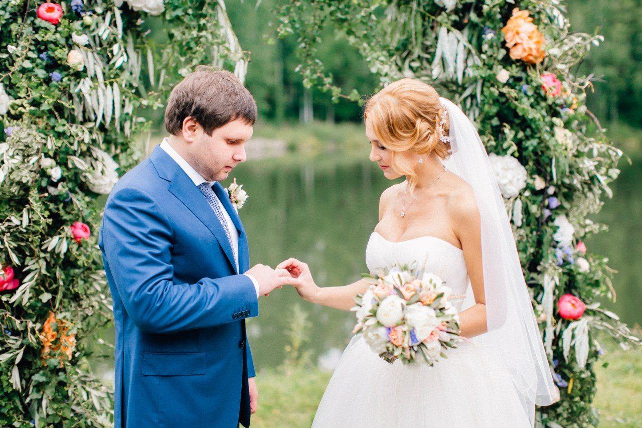 Маленькая Италия: свадьба Дмитрия и Ангелины