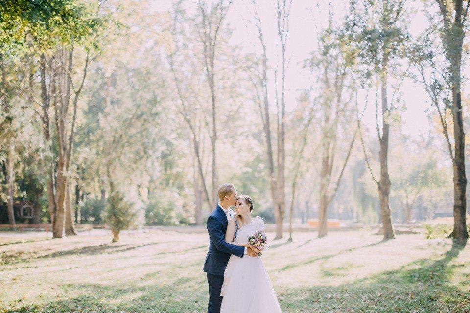 Теплый и нежный октябрь: свадьба Максима и Марии