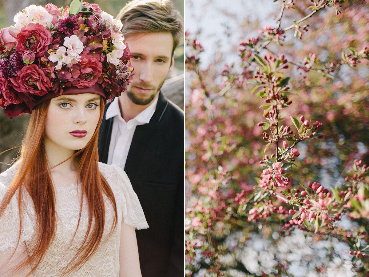 Пробуждение весны: стилизованная съемка