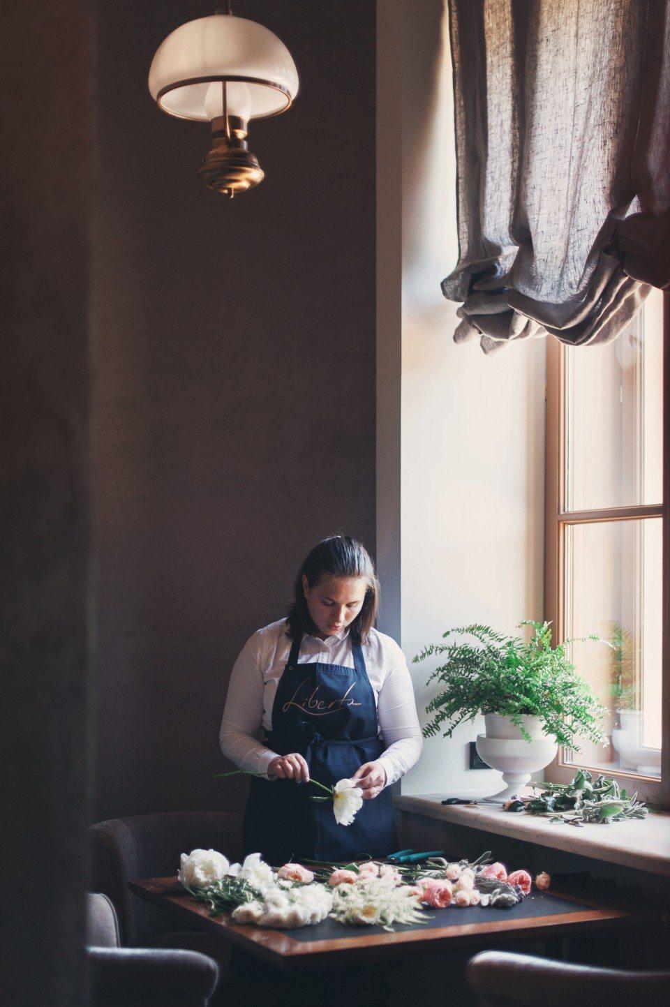 Цветочная кухня: нежность и благородство