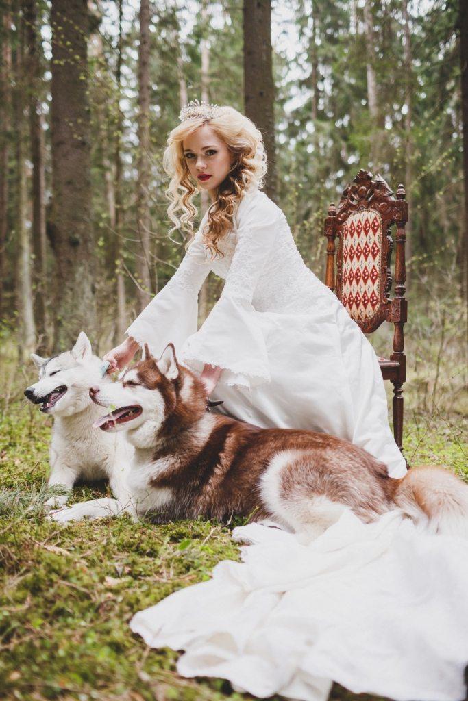 Королева леса: стилизованная съемка