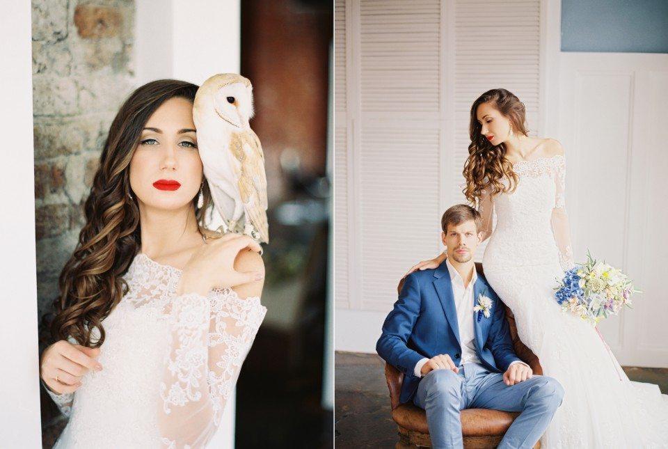 Легкость и свет: свадьба Кристиана и Дарьи