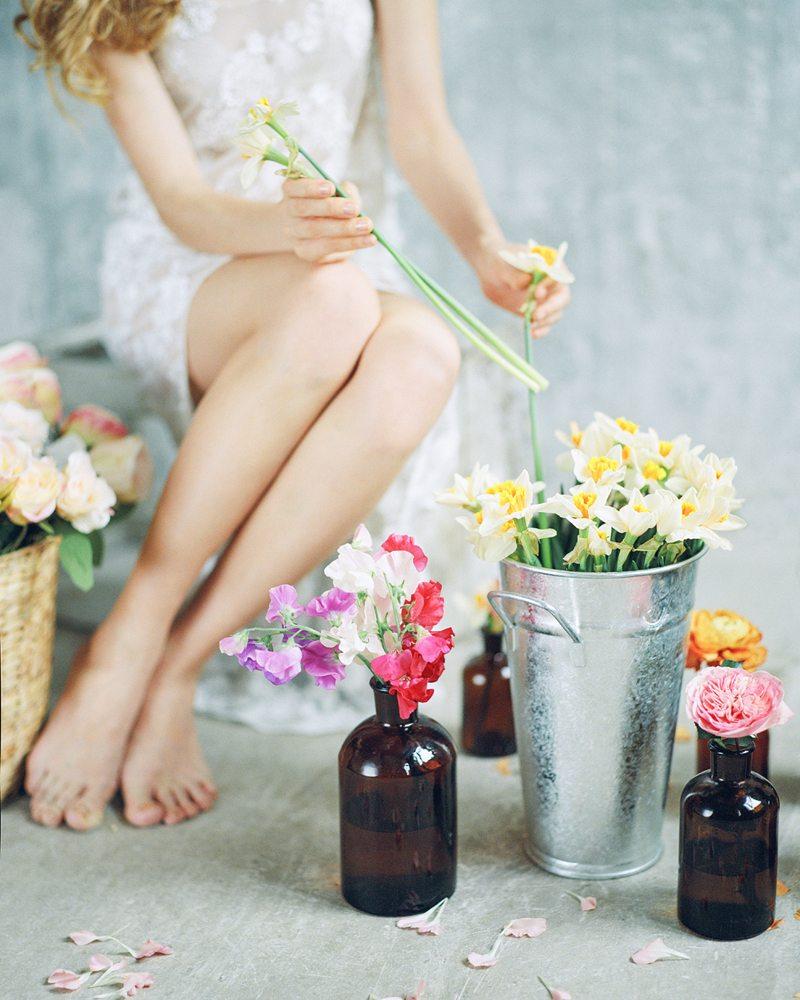 Цветочная кухня: весной вдохновленные