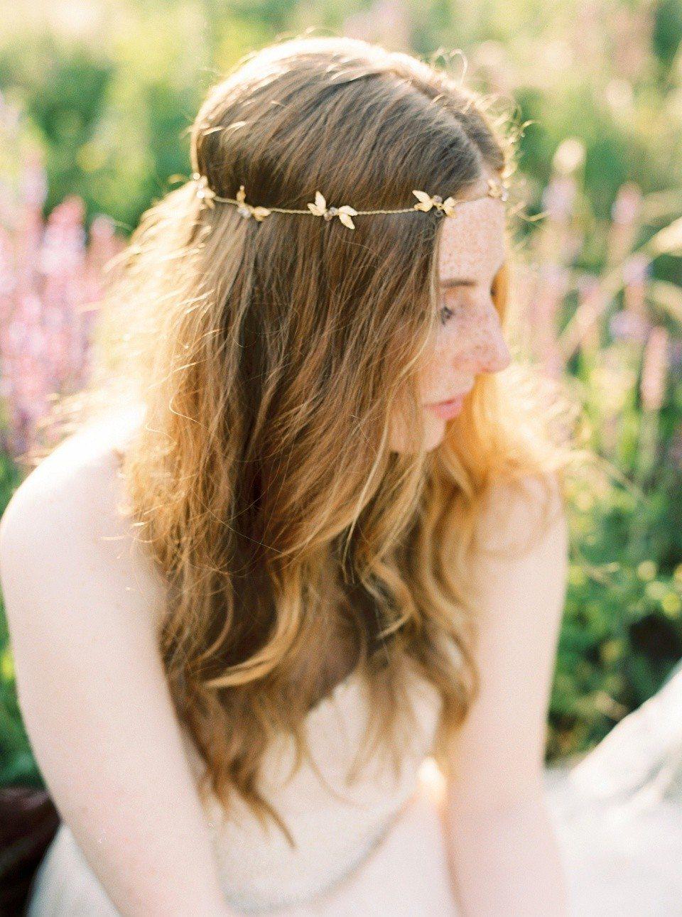 Богиня золотой листвы: стилизованная съемка