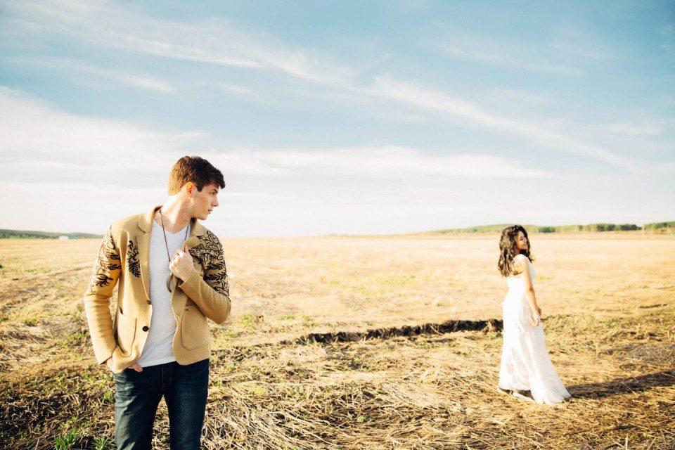 Богемная свадьба на природе: стилизованная съемка