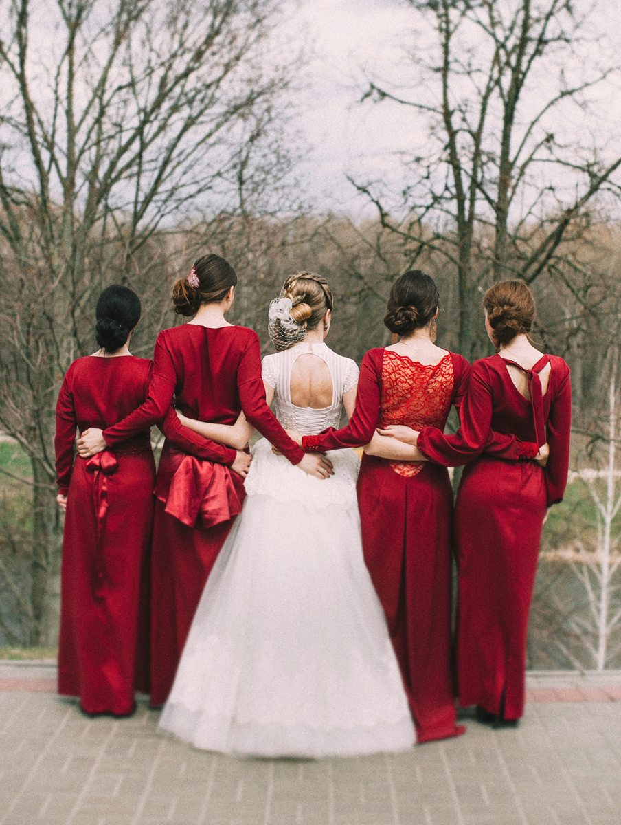 Любовь в стиле ретро: свадебная прогулка Ольги и Германа