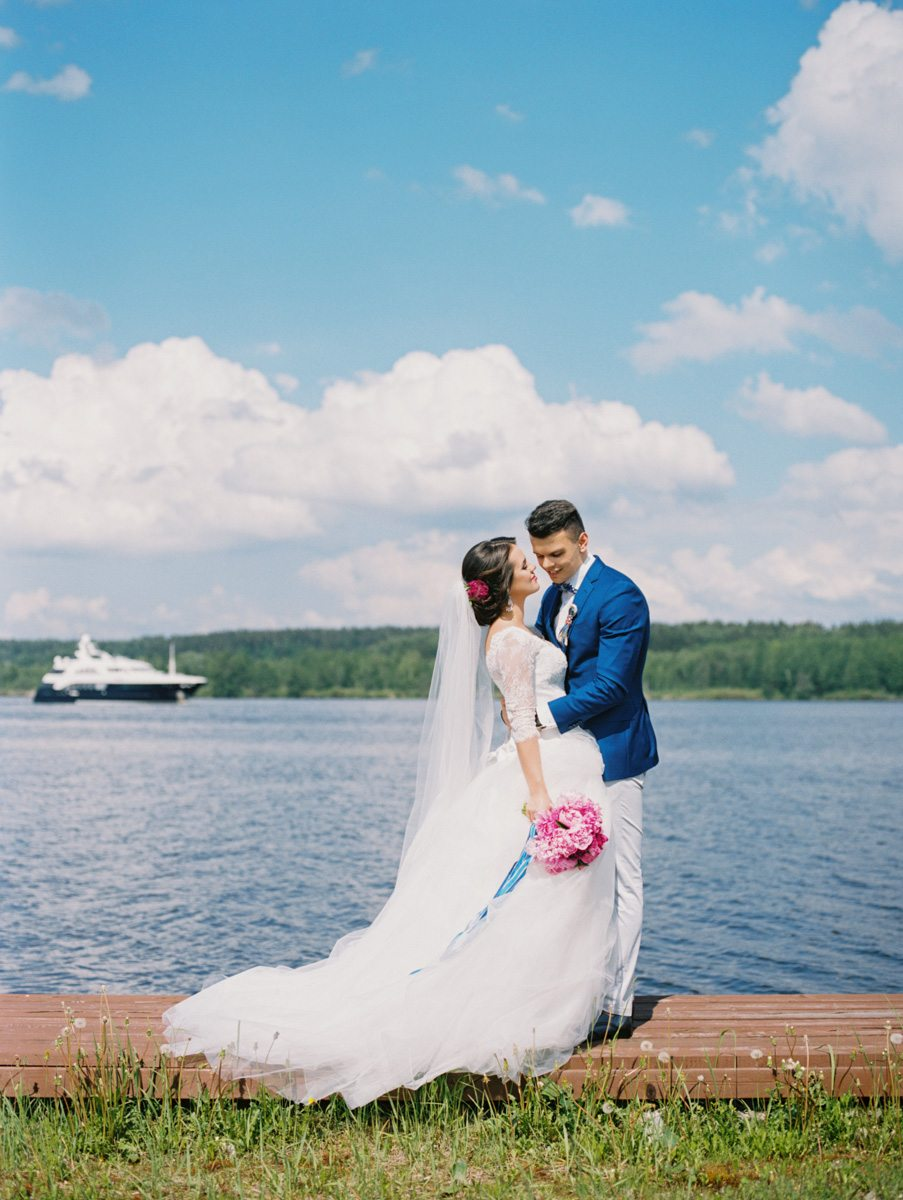 Морская романтика: свадьба Андрея и Ксении