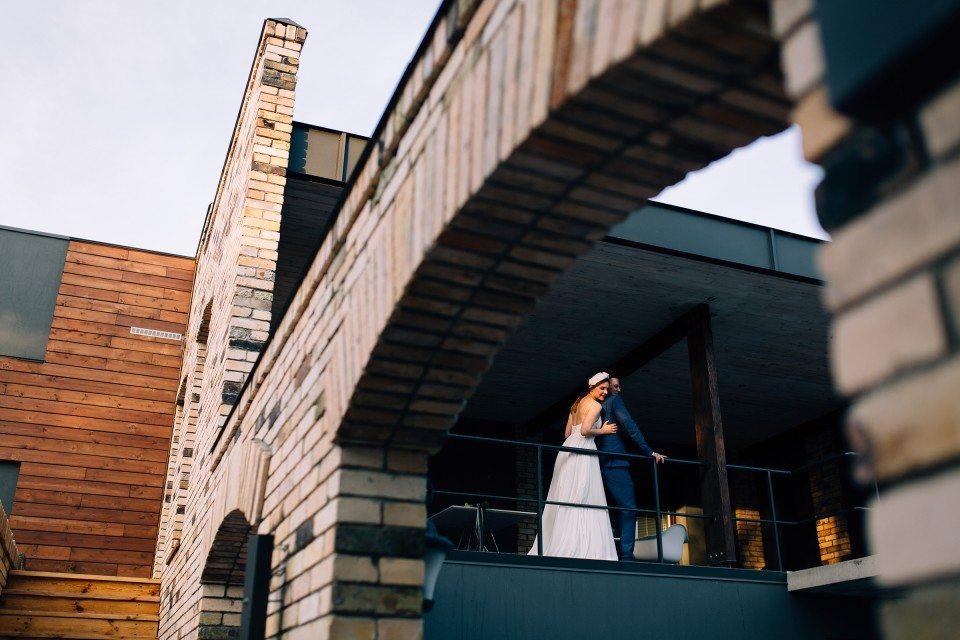 Green industrial: свадьба Александра и Александры