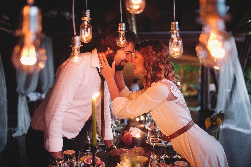 Любовь и Единорог: стилизованная съемка