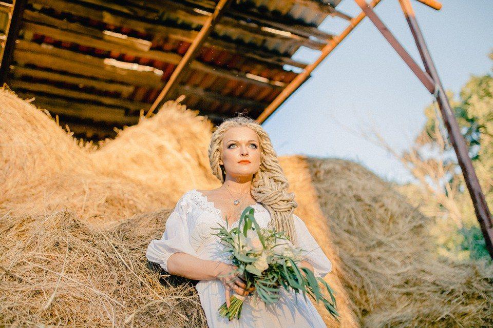На ферме: стилизованная съемка
