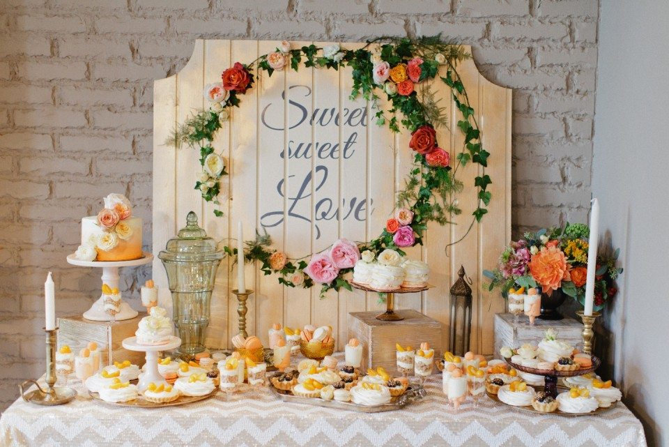 Свадебный декор 2017