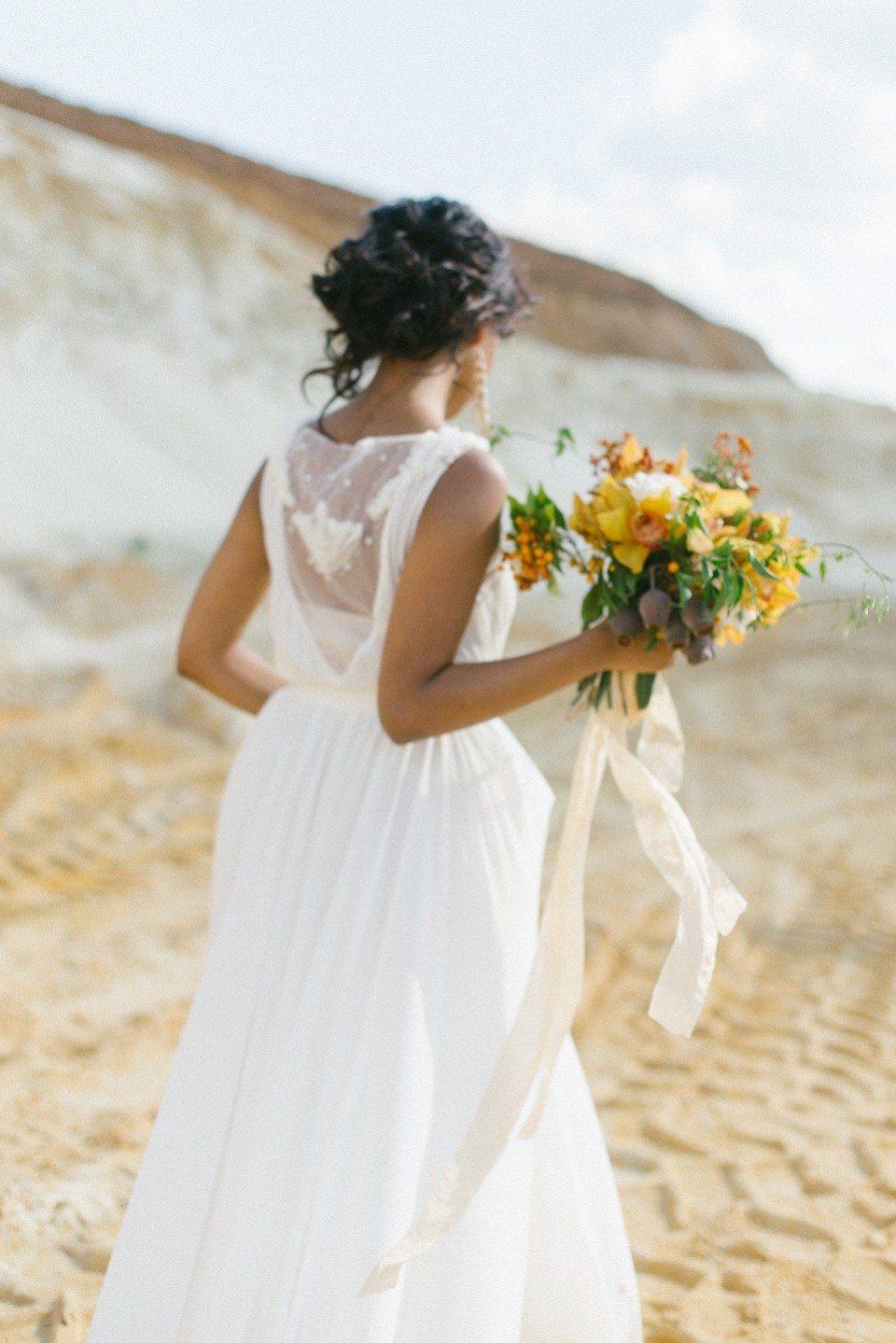 Цветок пустыни: стилизованная съемка