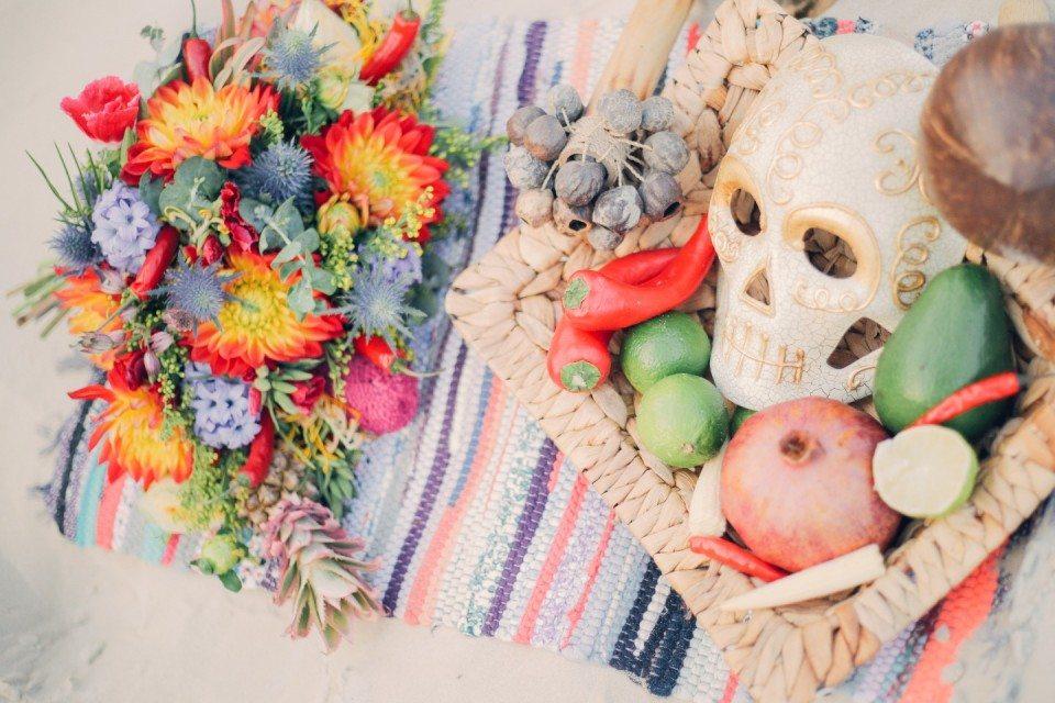 Dia de los Muertos: стилизованная съемка