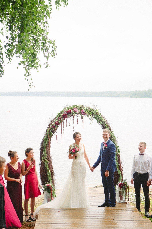 Вишневое настроение: свадьба Яны и Артема