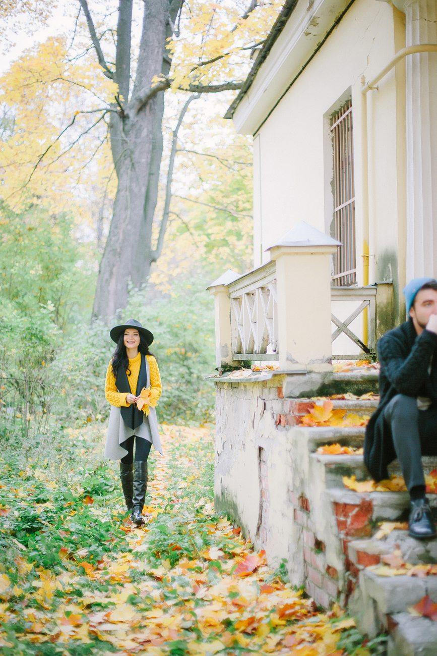 Золотая осень: love-story Кати и Игоря