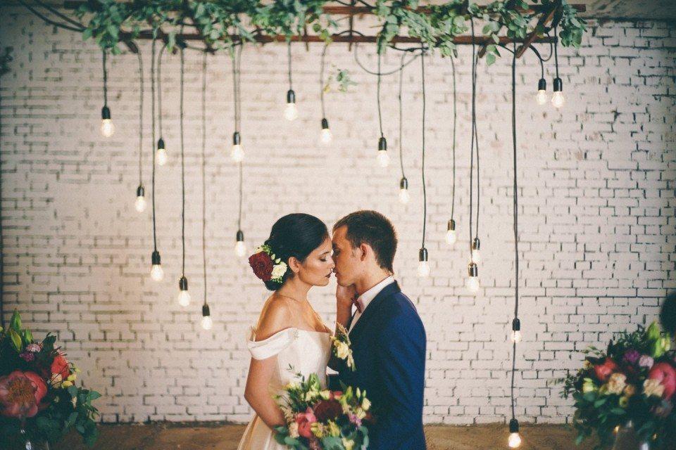 Loft wedding: стилизованная съемка