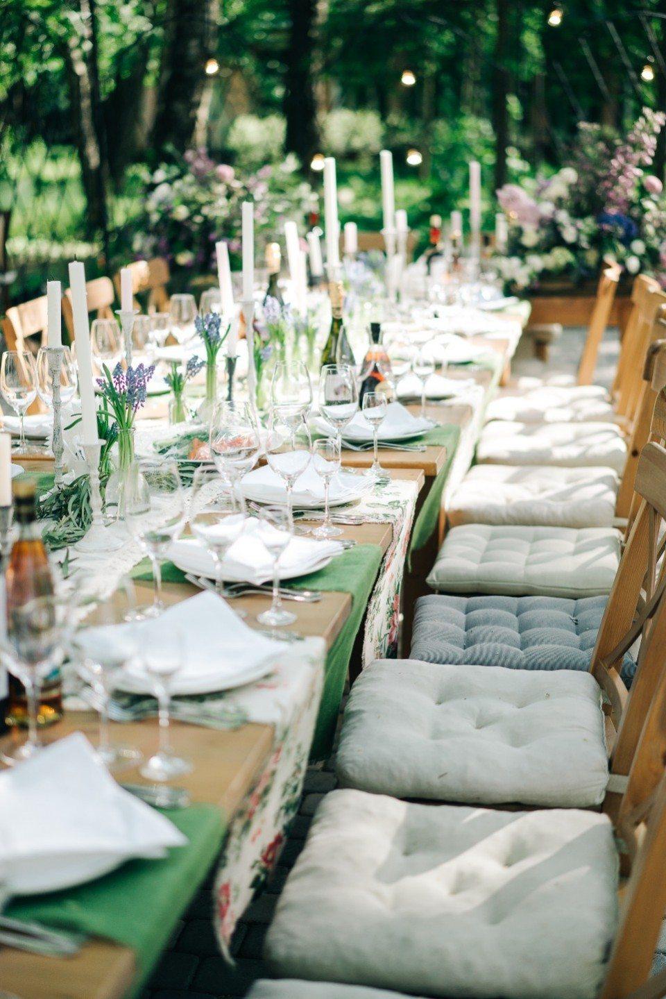 Блеск бенгальских огней: свадьба Максима и Лизы