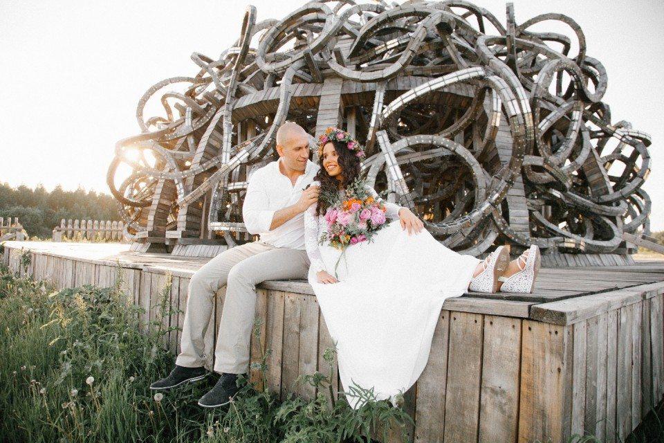 Праздник своими руками: свадьба Марты и Сергея