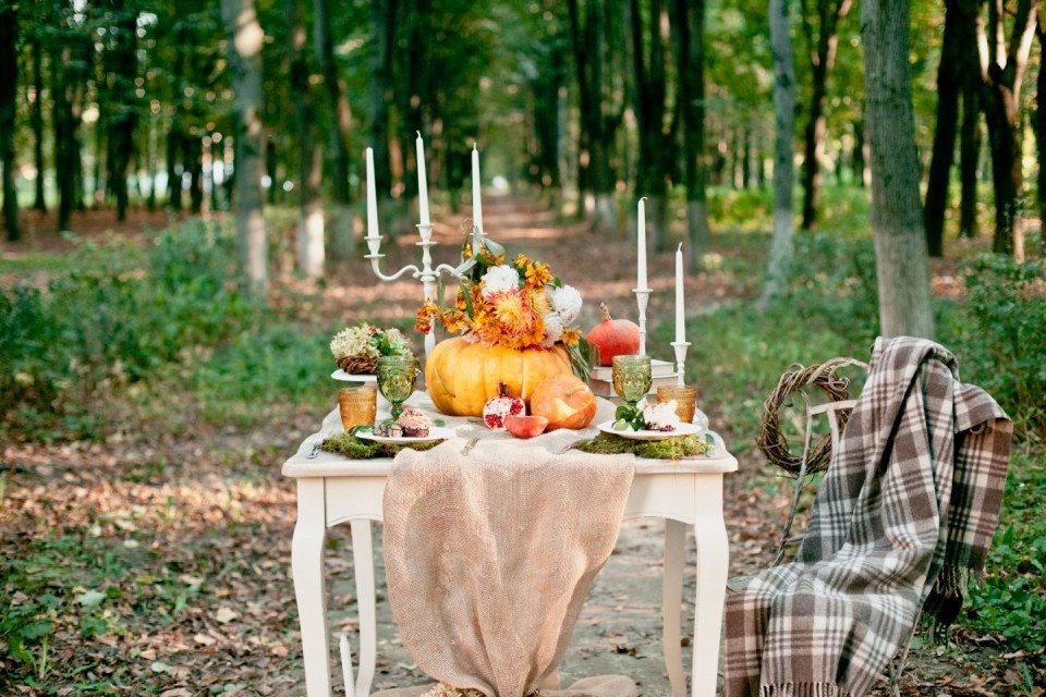 Осень здесь: стилизованная съемка
