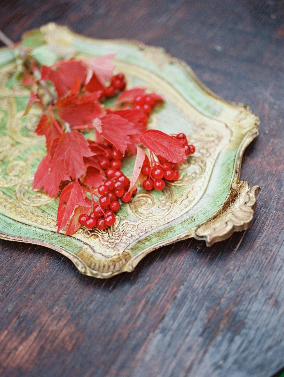 Цветочная кухня: прикосновение осени