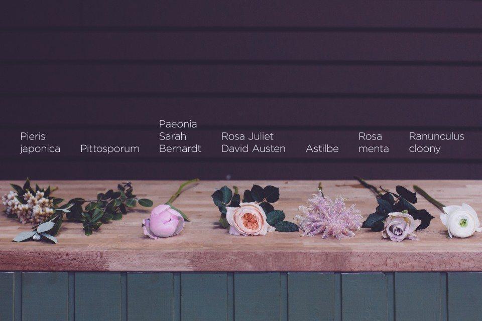 Цветочная кухня: роскошь пудровых оттенков