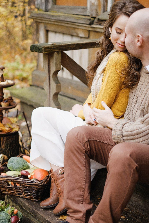 Осенний сад: стилизованная съемка