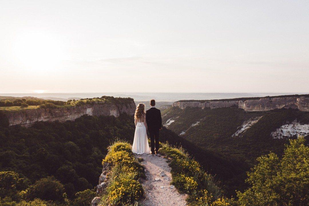 На вершине чувств: love-story Карины и Андрея в Крыму