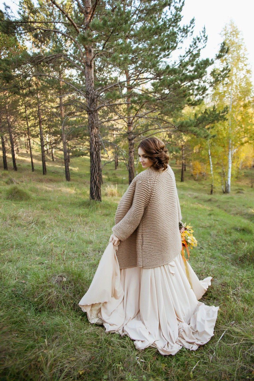 Осень в Сибири: стилизованная съемка