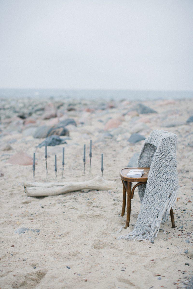 Дом у моря: стилизованная съемка