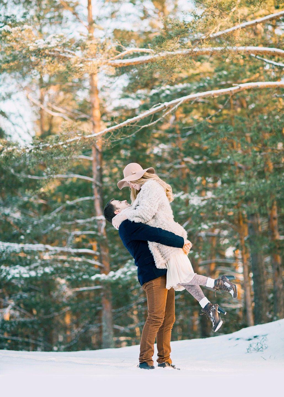 Зимняя история: love-story Юлии и Александра