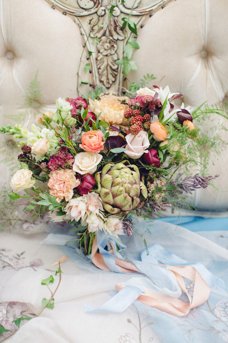 «Весна» Сандро Боттичелли: стилизованная съемка