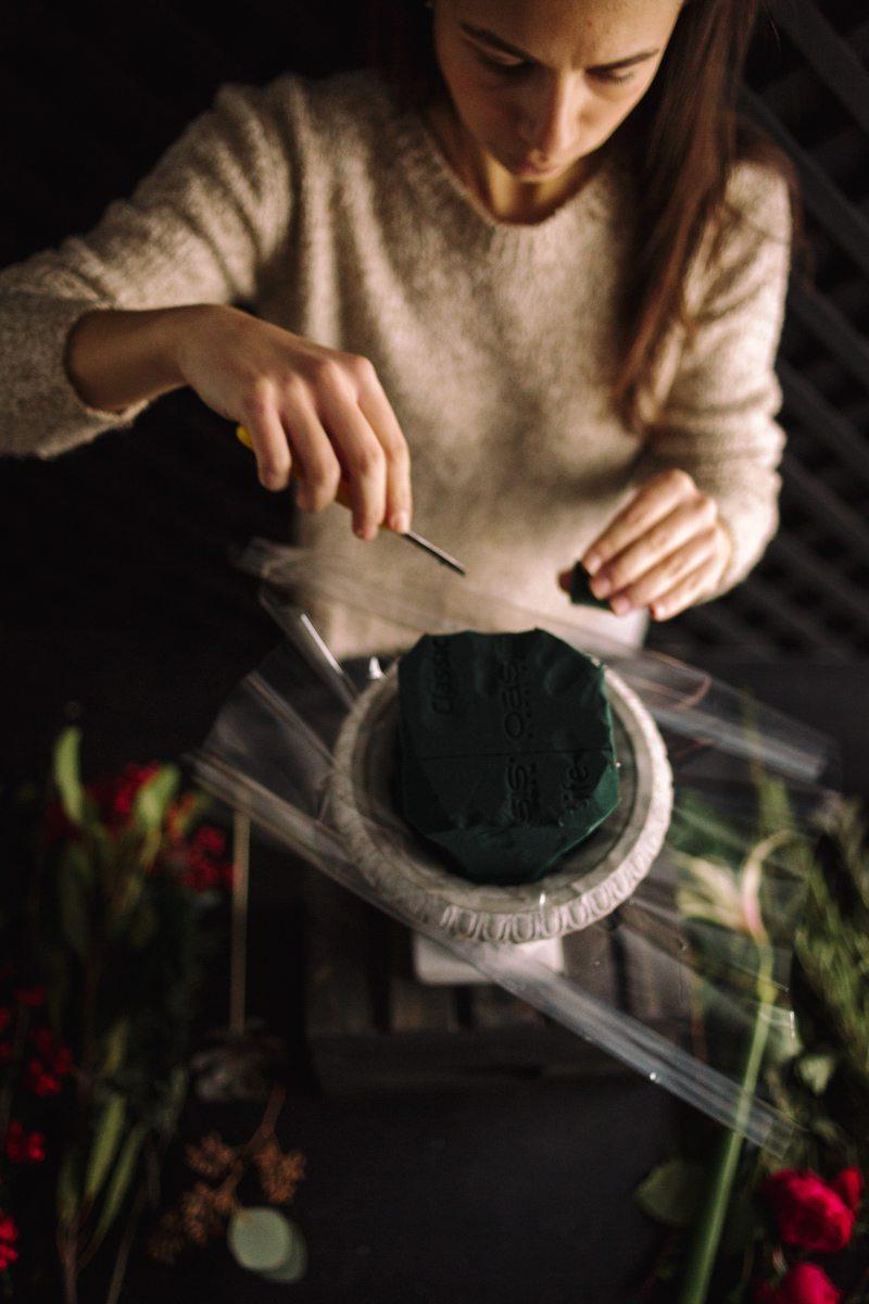 Цветочная кухня: зимнее вдохновение