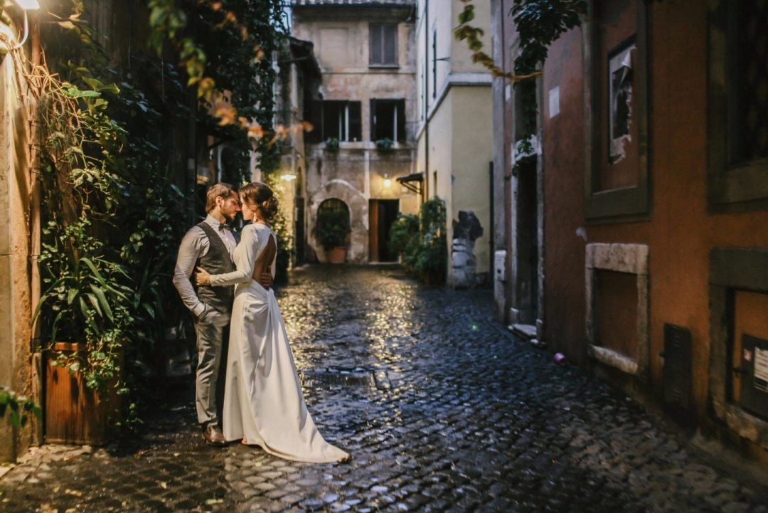 Однажды в Риме: свадьба Дарьи и Евгения