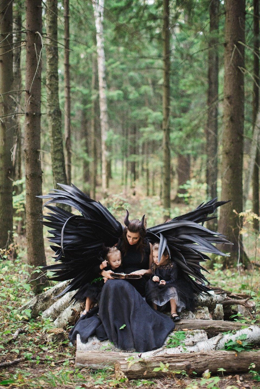 Dark angels: стилизованная фотосессия