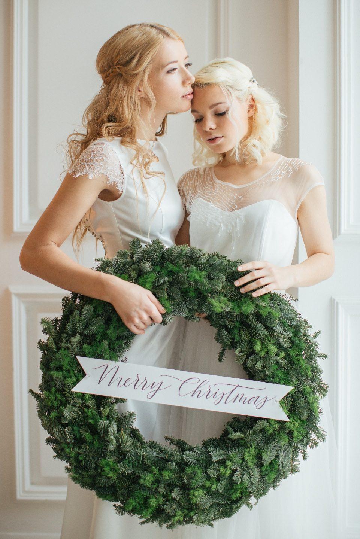 Накануне Рождества: стилизованная фотосессия