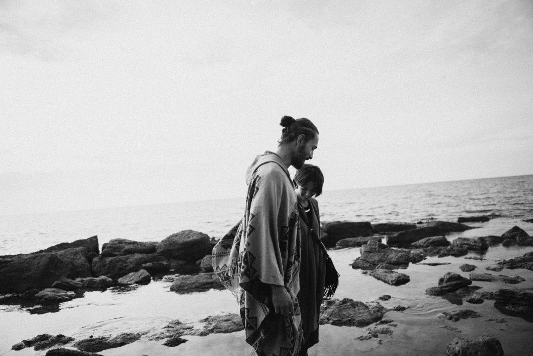 Морское равновесие чувств: стилизованная фотосессия