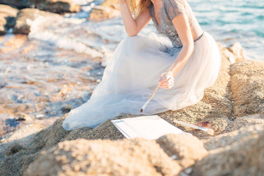 Влюбленные в океан: стилизованная фотосессия