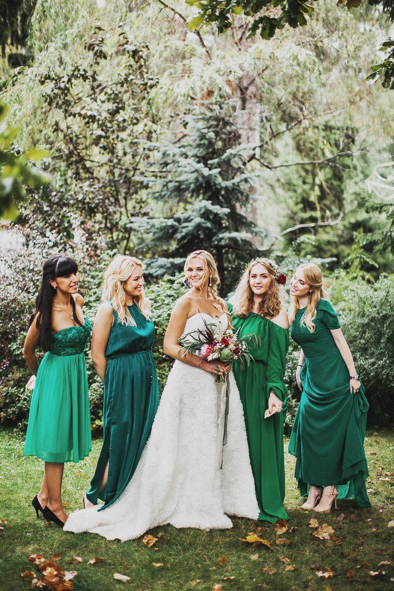 Осенняя сказка: свадьба Вовы и Насти