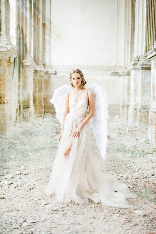 Wings & Ashes: стилизованная фотосессия