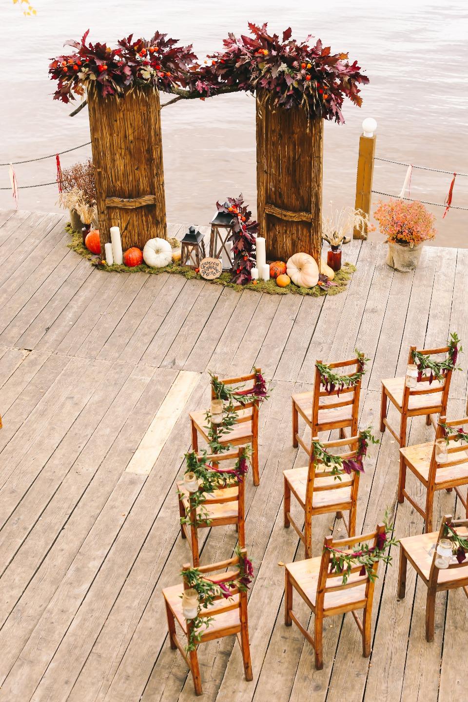 Осеннее вдохновение: свадьба Алексея и Татьяны