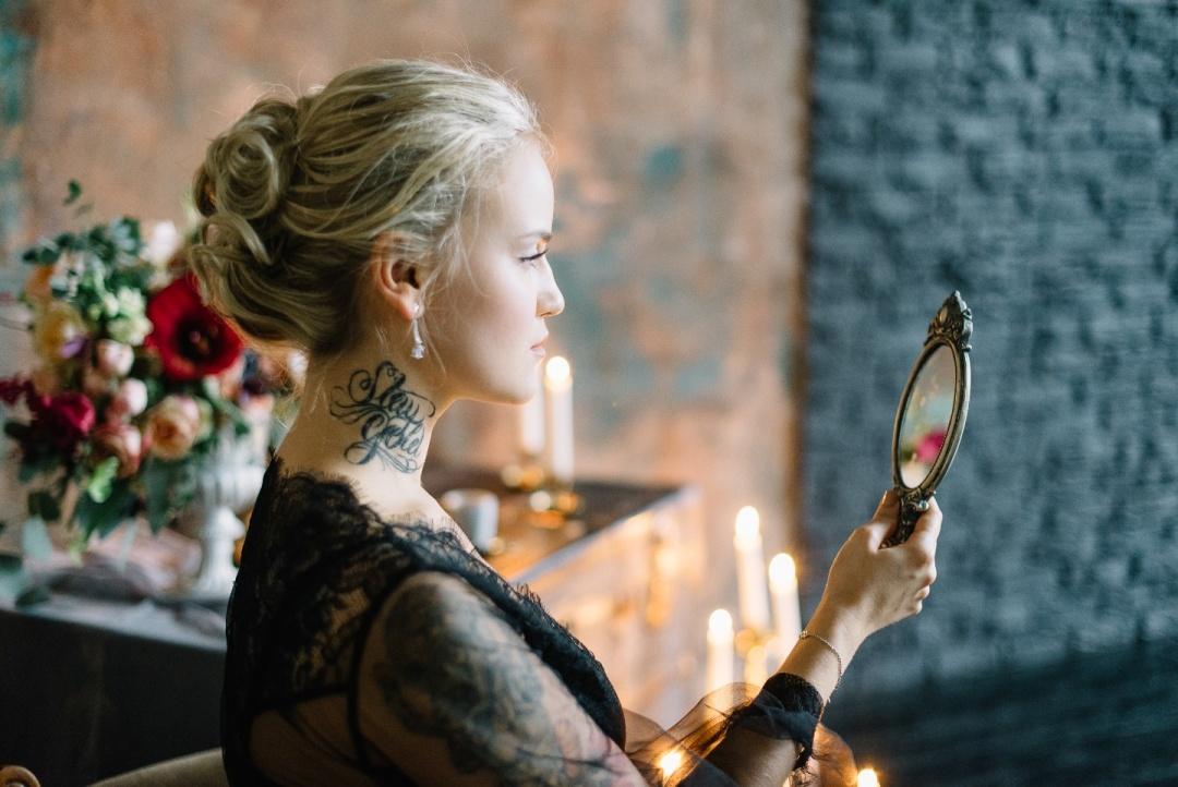 Modern gothic: стилизованная фотосессия
