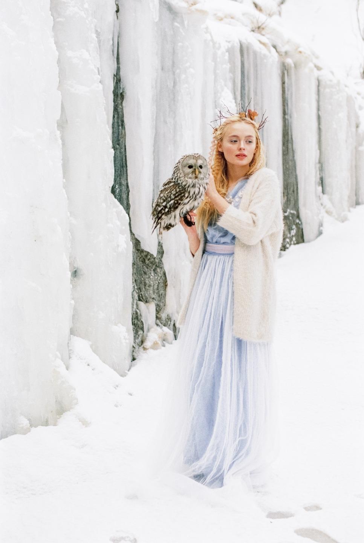 Холодная сердцем: стилизованная фотосессия
