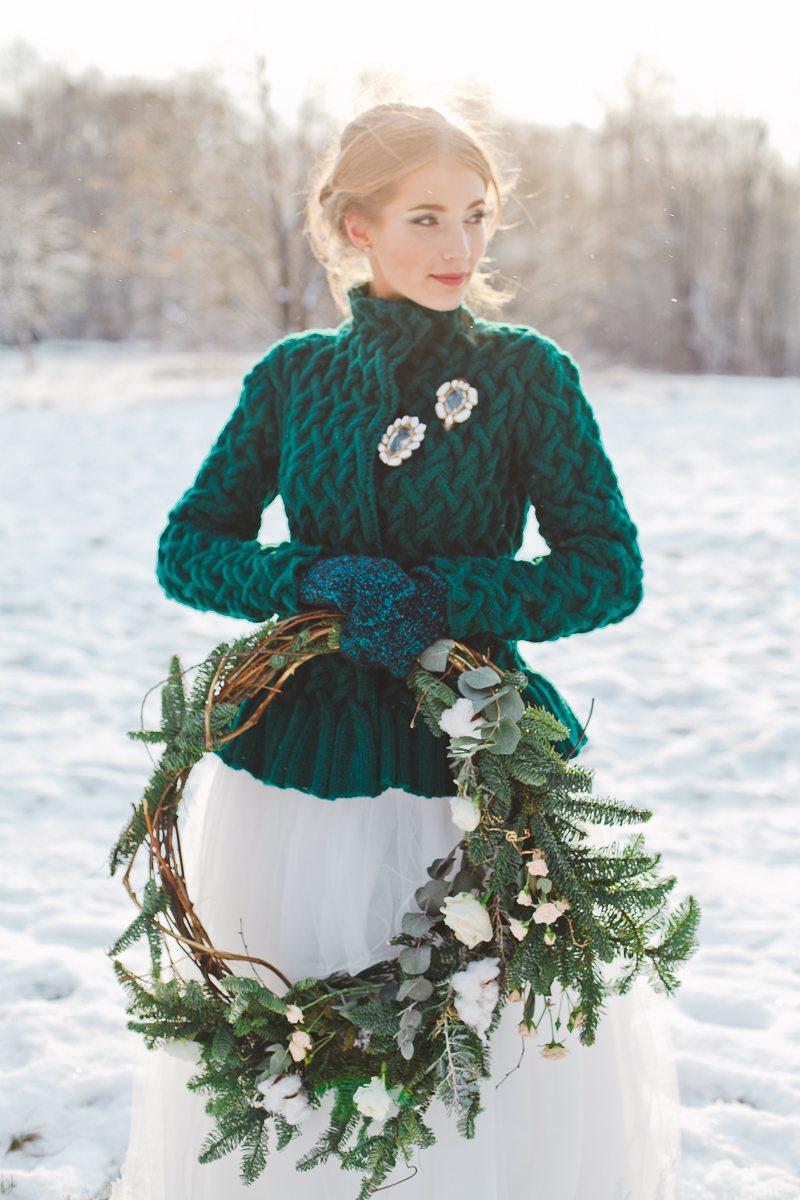 One winter story: стилизованная фотосессия
